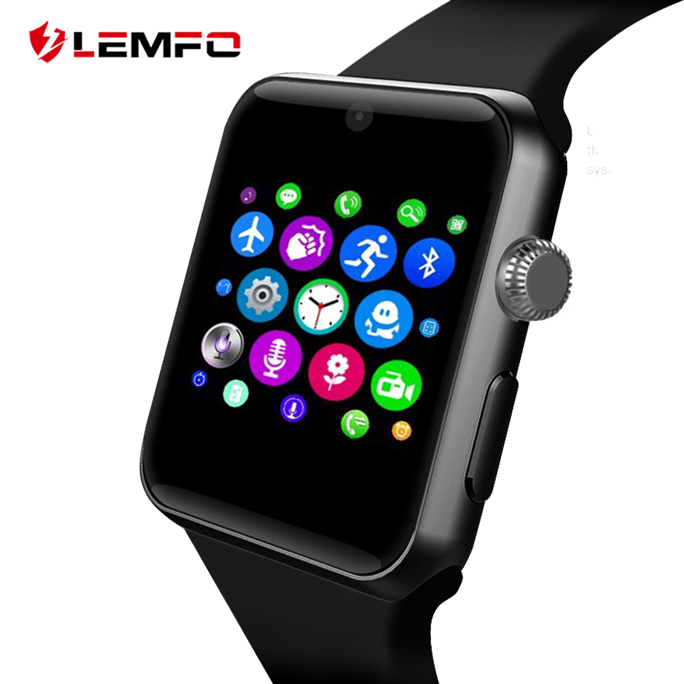 LEMFO LF07 Bluetooth Smart Watch Support SIM Card Pedometer Bluetooth 4.0 Voice Interactive Smartwatch For IOS Android Phone lemfo lf07 bluetooth smart watch sync notifier support sim card sport smartwatch for apple iphone androd ios xiaomi