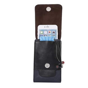 Image 3 - Leather Waist Pouch Phone Case For Samsung S9 S8 Plus S7 iPhone X XR XS Max 8 7 6 6S Plus Huawei P20 Lite Sport Cover Belt Clip