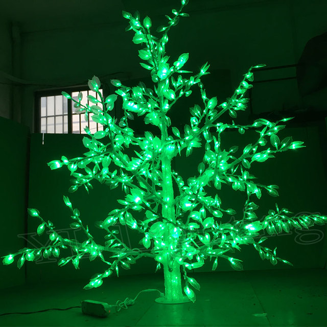 15meter 864led Outdoor Lighted Artificial Christmas Trees Led