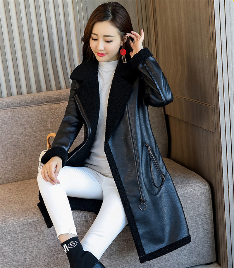 55fc21ad9b5 Detail Feedback Questions about Plus Size Women s Autumn Winter Lamb ...