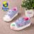 2017 ocasional Otoño nueva fresa imprime casual lienzo suave bebé infantil niñas primeros caminante toddle niños sneakers zapatos