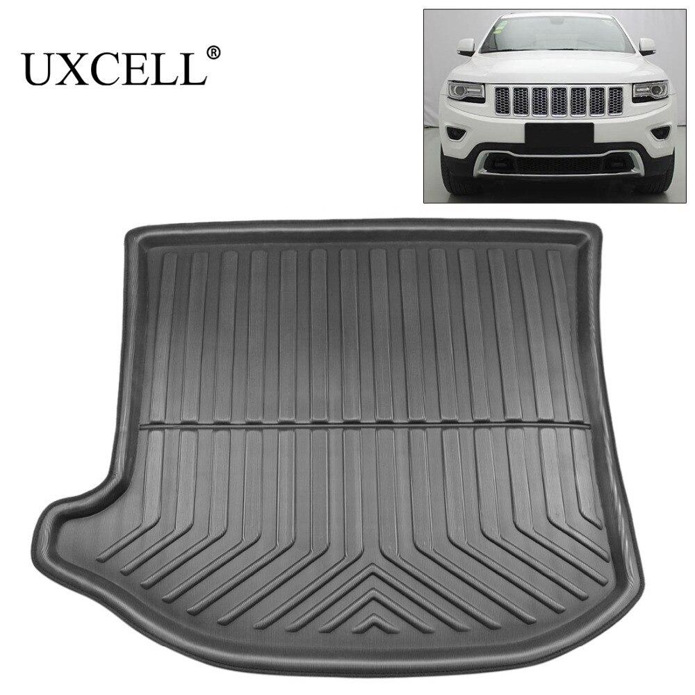 UXCELL PE+EVA Foam Plastic Black Rear Trunk Boot Liner Cargo Mat Floor Carpet Tray Cover Pad For Jeep Grand Cherokee 2017 2018