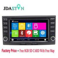 JDASTON Car DVD Player For Kia Carens Cerato Spectra Sorento Sportage Rondo7 X Trek Sedona Magentis Magenta Picanto Naza Suria