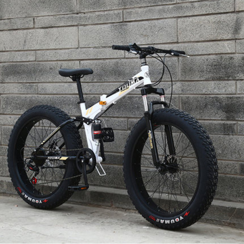 Snowmobiles Mountain Bike 4.0 Widened Tires Both Men And Women 20 Inches 21speed 24speed 27 Speed
