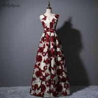 Burgundy Bridesmaid Dresses Long Off the Shoulder A Line Prom Gowns Women Party Dress svestiti donna eleganti per cerimonie