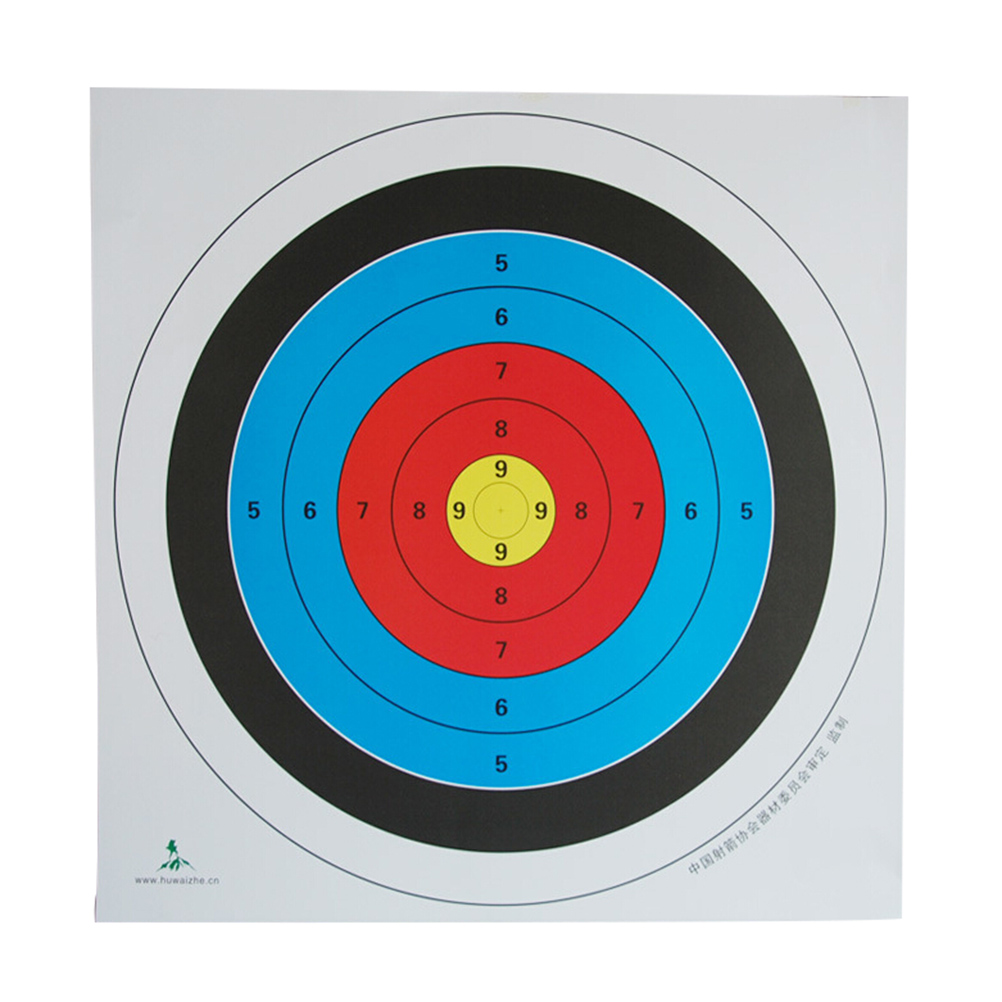 archery target paper reinforced waterproof shooting paper hunting diagram parts of a bow and arrow archery target diagram [ 1002 x 1002 Pixel ]