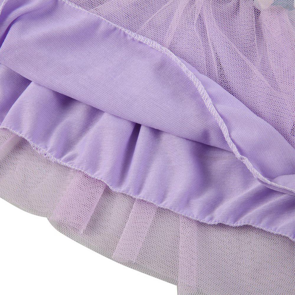 Кружевная джинсовая рубашка одежда для маленьких детей платье-пачка принцессы джинсовая футболка Тюль с цветочным рисунком летняя мягкая пачка принцессы для девочек на день рождения