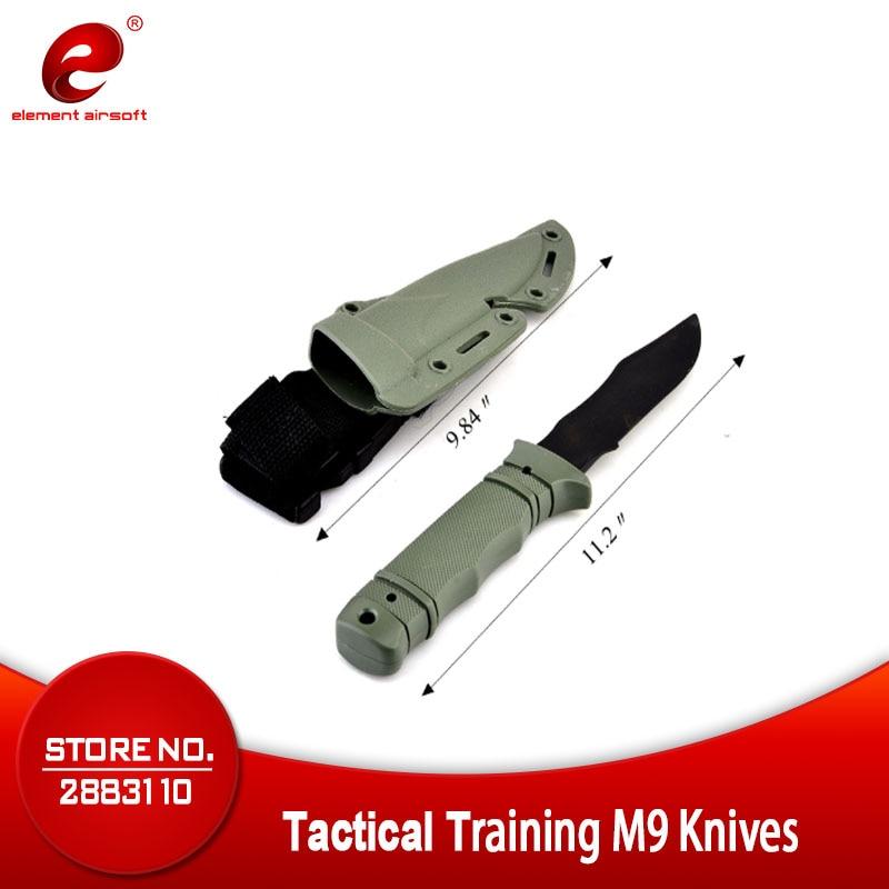 Ameriška vojska M9 taktični trening bodala Cosplay plastika nož - Kampiranje in pohodništvo