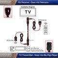 Dual band 30 khz-50 khz controle remoto ir sobre hdmi cabo extensor repetidor kit para satélite iptv android dvd stb caixa de tv