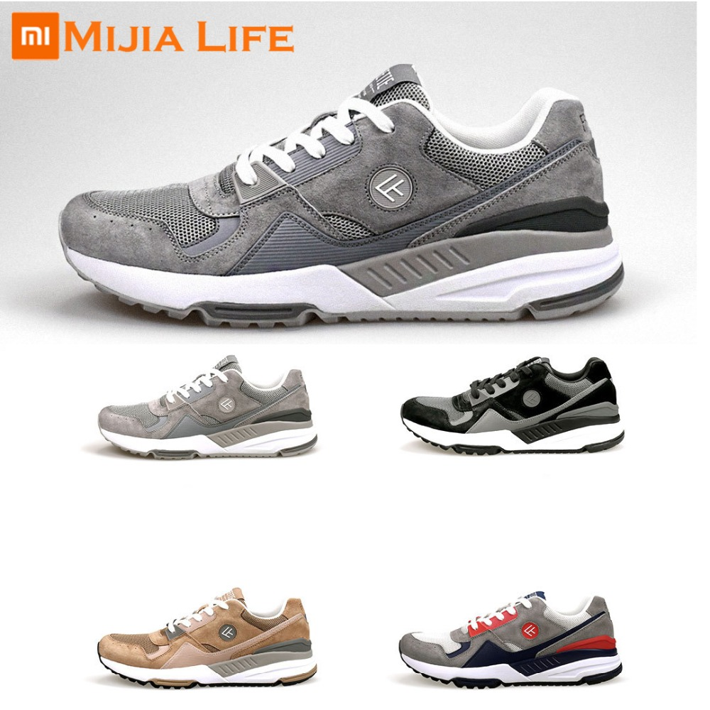4 Colors Original Xiaomi Mijia FREETIE90 Men's Retro Sports And Casual Shoes Breathable Wear Resistant Shock Elasticity Shoes-in Smart Remote Control from Consumer Electronics    1