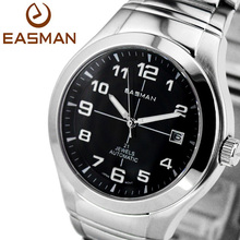 EASMAN Men Watch Brand Automatic Mechanics Men Watches Classics Big Plus Dial Luxury Watches Clock Miyota 21 Jewels Wristwatches