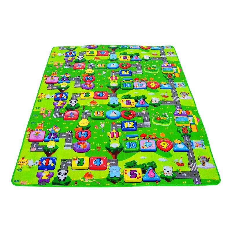 HTB1UtVPlY3nBKNjSZFMq6yUSFXa6 0.5cm Thickness Children's Rug Baby Playing Mats Soft EVA Foam Double Side Patterns Child Carpets For Kids Crawling Gym Mats
