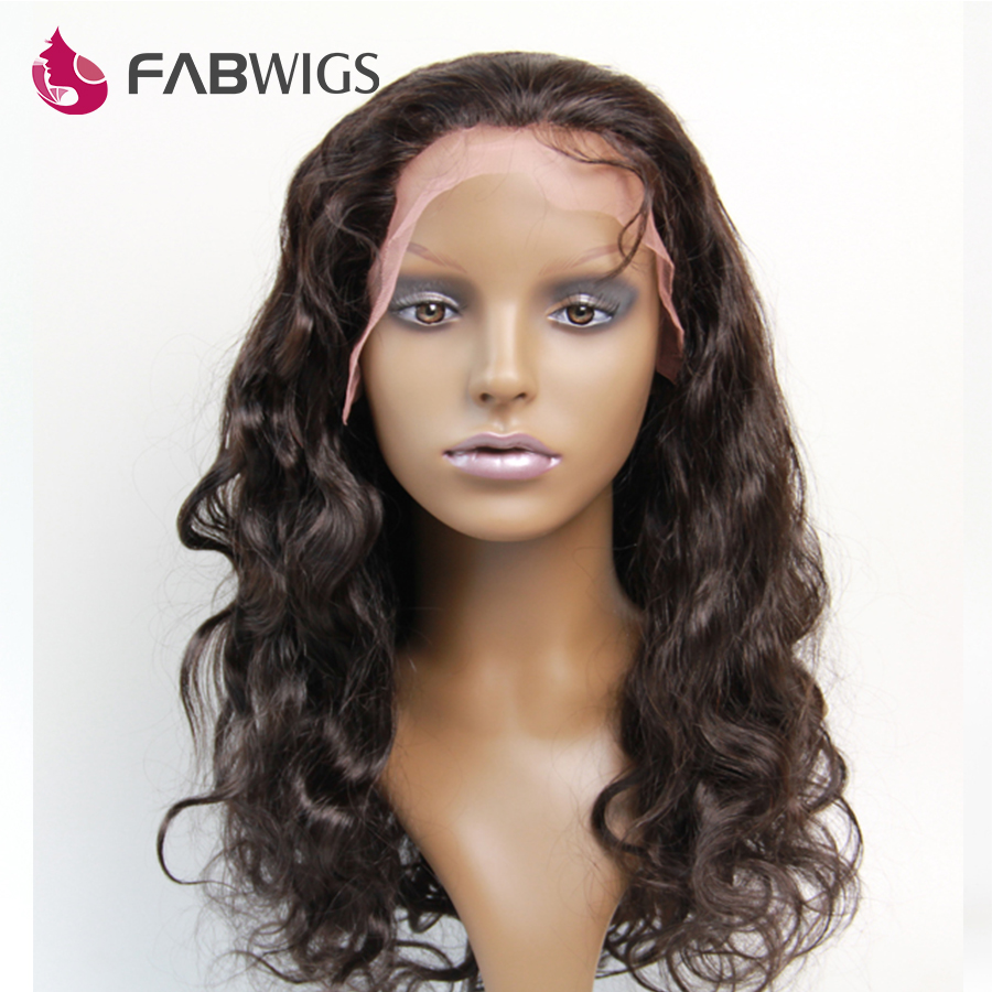 India Remy Lace Front Wig With Baby Hair Body Wave