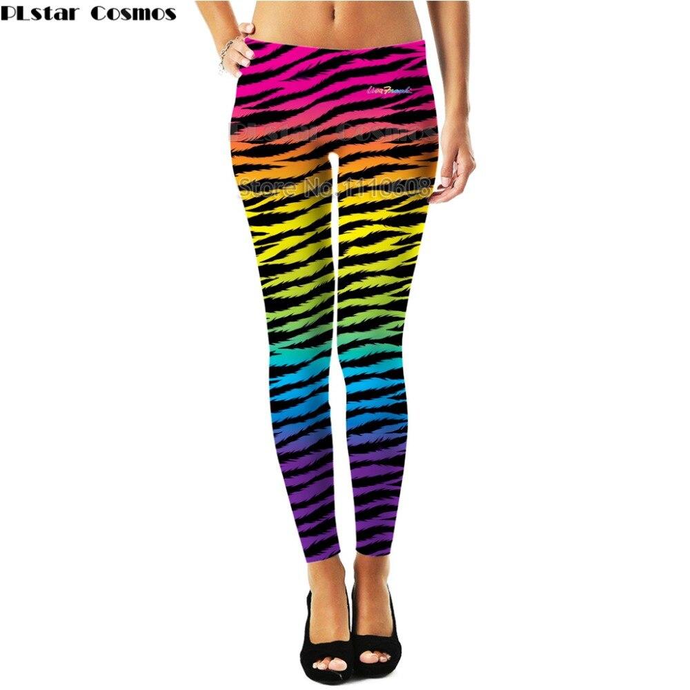 YX MENINA Marca Vendas Quentes Leggings Aptidão Impressão Lisa Franca legging Alta Elasticidade Leggings Calças Calças para mulheres