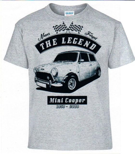 تي شيرت ، ميني كوبر الألمانية سيارة القطن الرجال القمصان الكلاسيكية 2019 الهيب هوب ملابس الشارع الشهير قمصان شخصية