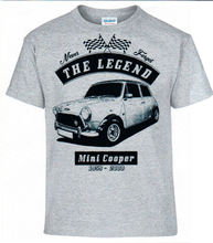 T Shirt pour hommes, Streetwear classique en coton, style Mini Cooper, vêtements de voiture allemande, Streetwear, Hip Hop, 2019