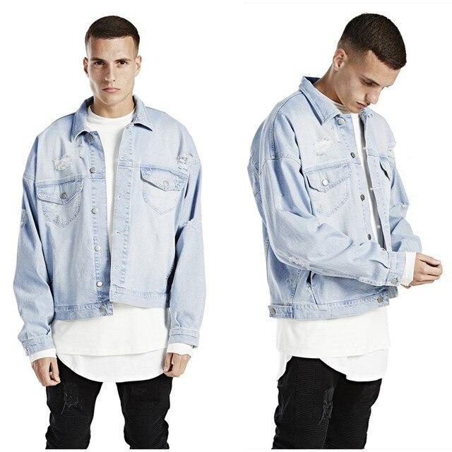 7440649e6a8 hip hop mens fashion coats represent clothing unisex S-2XL designer  oversized women blue denim jacket men clothes jackets
