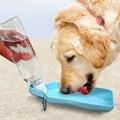 1 шт.  дорожный диспенсер для бутылок с водой для собак и кошек  портативная пластиковая миска для щенка  250 мл  500 мл