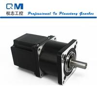 Nema 23 gear stepper motor L=54mm planetary reduction gearbox ratio 4:1 for CNC cnc robot pump