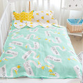 2016 Cute Baby Sleeping Bag Summer 7 Designs 150cm Newborns Lovely Kawaii Cotton Bed 0-6M Kids Gifts In Stock Free Shipping 1pcs