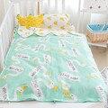 2016 Lindo Bebé Saco de dormir de Verano 7 Diseños 150 cm Recién Nacido Precioso Kawaii Algodón Cama 0-6 M Niños Regalos En Stock Envío Libre 1 unids