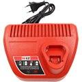 ЕС вилка Ac220-240V литий-ионное зарядное устройство для Milwaukee M12 N12 вход выход 12 В 10 8 В 48-59-2401 48-11-2402 электроинструменты