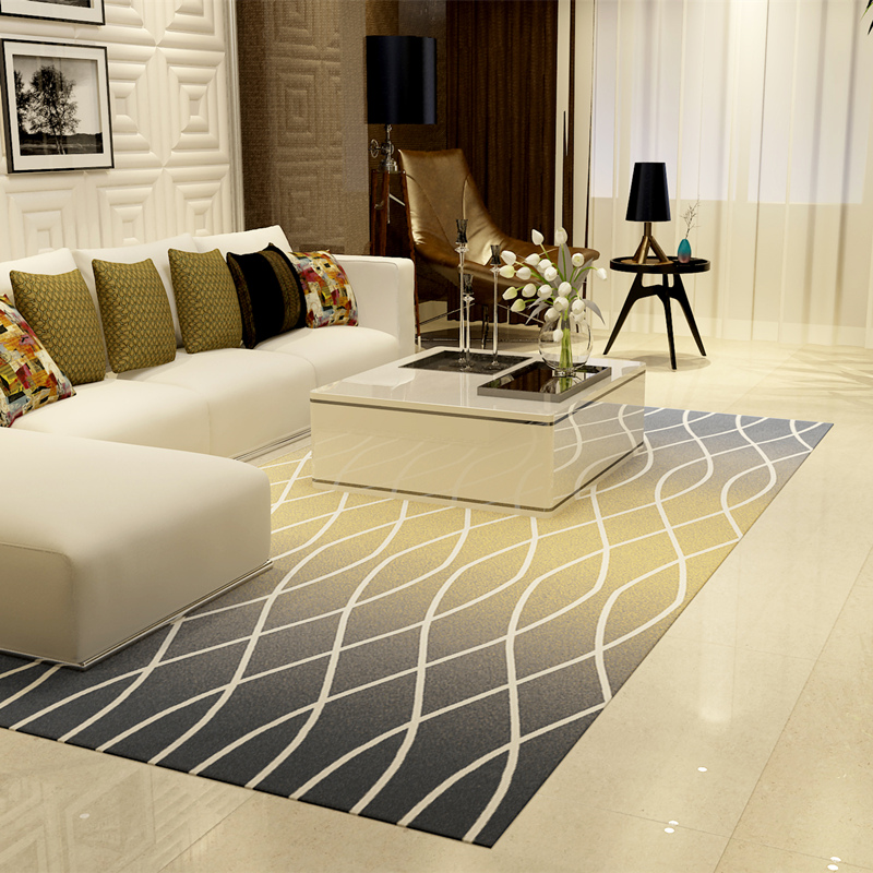 WINLIFE Nord Stile Europeo Carpet Disegno Geometrico Tappeto Per ...