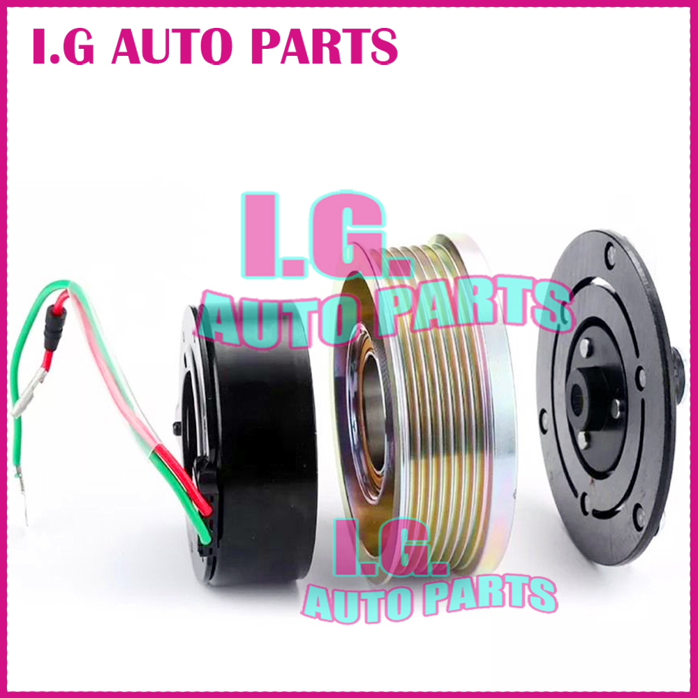 Air Conditioner Ac Compressor Magnetic Clutch Assembly Hs 110r Kompresor Daihatsu Gran Max Sanden Assy New Set Repair Kit For Car Honda Cr V A C