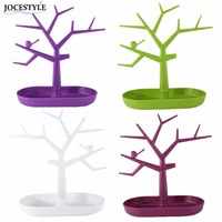 Display Jewelry Organizer Show Rack Jewelry Necklace Ring Earring Tree Stand Necklace Organizer Jewelry Tree Earings