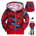 Boys fleece sweater cardigan jacket plus velvet jacket zipper jacket children