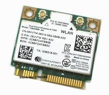 SSEA Wifi + Bluetooth 4.0 Wireless Mini PCI-E Card For Intel Dual band Wireless-N 7260 2.4G/5Ghz 7260HMW AN 300 Mbps