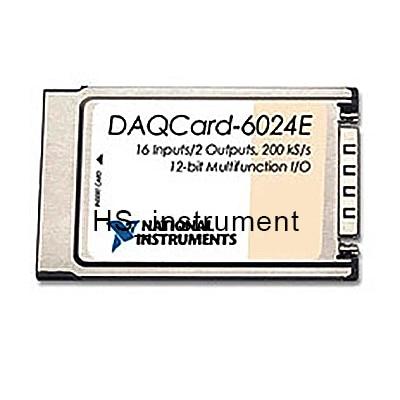 New & Original NI DAQCard 6024E multifunction data acquisition card NI DAQ 6024