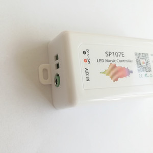 Image 5 - LED Bluetooth SP107E פיקסל IC SPI מוסיקה LED בקר בטלפון APP עבור WS2812 SK6812 SK9822 RGBW APA102 LPD8806 הרצועה DC5 24V