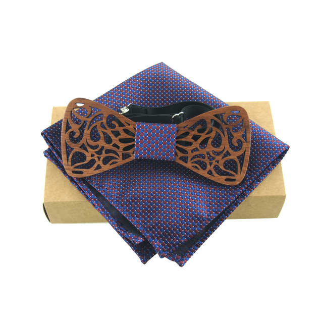 Mantieqingway mens wood bow tie classic wooden bowties neckwear mantieqingway mens wood bow tie classic wooden bowties neckwear gravats wood bowknot bow ties cravats ccuart Image collections