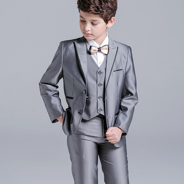 5 Pcs/Set baby Boy\'s Suit For Wedding Prom Formal New Arrival ...