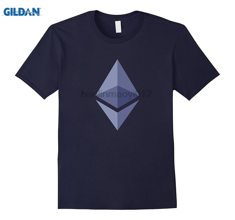 GILDAN Mens Ethereum Ether Love - Bitcoin summer dress T-shirt Mothers Day Ms. T-shirt