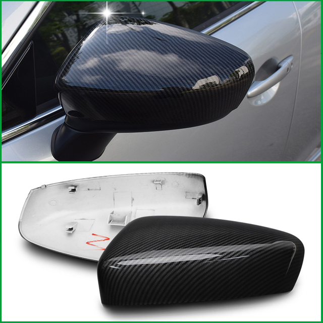 US $50 46 13% OFF|Aliexpress com : Buy For Mazda 6 M6 Atenza 2014 2015 2016  Door Side Wing Rearview Mirror Replace Original Cover Trim Car Styling