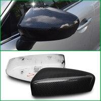 Para mazda 6 m6 atenza 2014 2015 2016 porta lateral asa espelho retrovisor substituir original capa guarnição estilo do carro acessórios