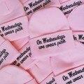 2015 Новая Зимняя Шапка Женщины Шапочка По Средам Мы Носим Розовые Шляпы Шерсть Трикотажные Шапки И Шляпы Для Женщин