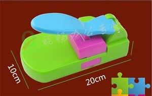 Image 2 - Puzzle maker ręcznie zabawki, aby puzzle przez siebie, craft dziurkacz/diy narzędzia handy. Puncher. Puzzle