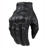 Heißer verkauf leder vollfinger motorrad handschuhe männer moto schutz gears racing handschuhe