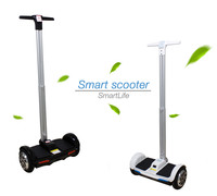 2015 Newest 2 Wheels 8 Inch F1 Tire Self Balancing Electric Scooters Hoverboard With Handle Bar