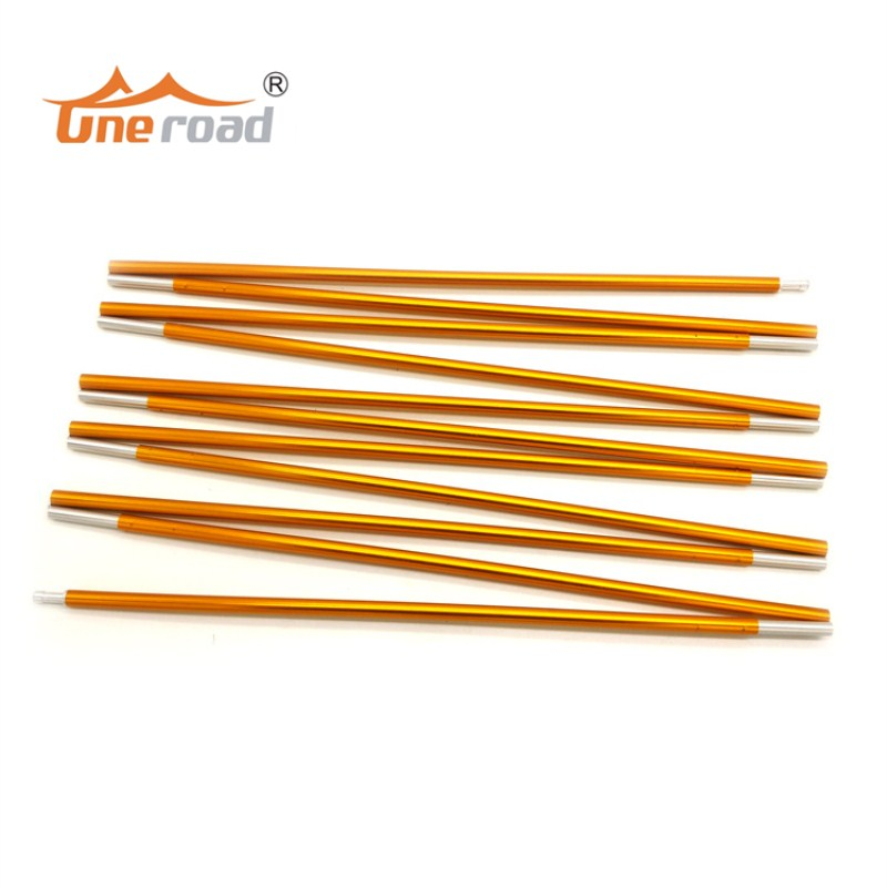 1pc 8.5mm Aluminum alloy Tent pole outdoor camping tent support poles skeleton spare replacement tent rod tent accessories high quality outdoor 2 person camping tent double layer aluminum rod ultralight tent with snow skirt oneroad windsnow 2 plus