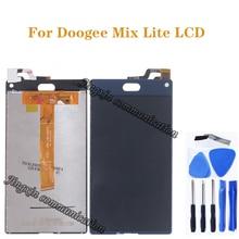 """5.2 """"đối với Doogee Mix Lite LCD hiển thị + màn hình cảm ứng kỹ thuật số chuyển đổi thay thế cho DOOGEE MIX LITE bộ phận sửa chữa công cụ miễn phí"""