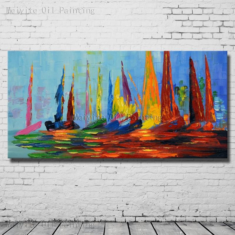 grande color abstracta pintada a mano pintura al leo sobre lienzo pintura abstracta moderna decoracin del