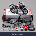 R1200GS Motorcycle Model Building Kits 1/12 Assembly Toy Kids Gift Mini Moto Diy Diecast Models Toy For Gift Collection