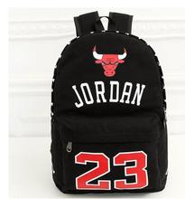 Chaud-vente Harajuku ulzzang mode Chicago bulls sac à dos preppy style cartable hommes femmes loisirs épaule sac