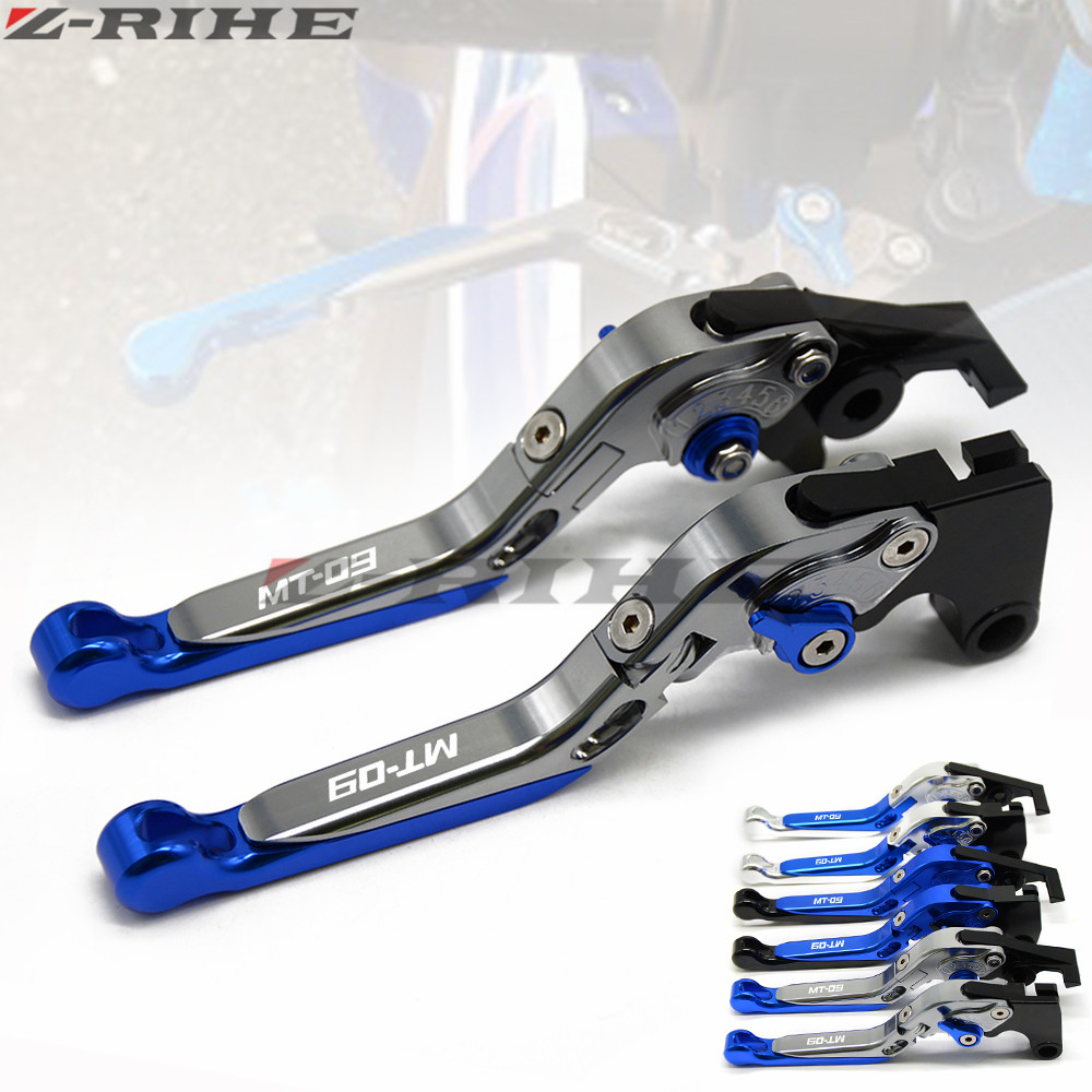 For YAMAHA FZ-09 FJ-09 MT-09 SR MT09 MT 09 MT-09 Tracer 2014-2015 Motorcycle Accessories Folding Extendable Brake Clutch Levers for yamaha mt 09 mt 09 tracer 2014 2015 motorcycle adjustable folding extendable brake clutch levers fz 09 mt 09 sr not fj 09