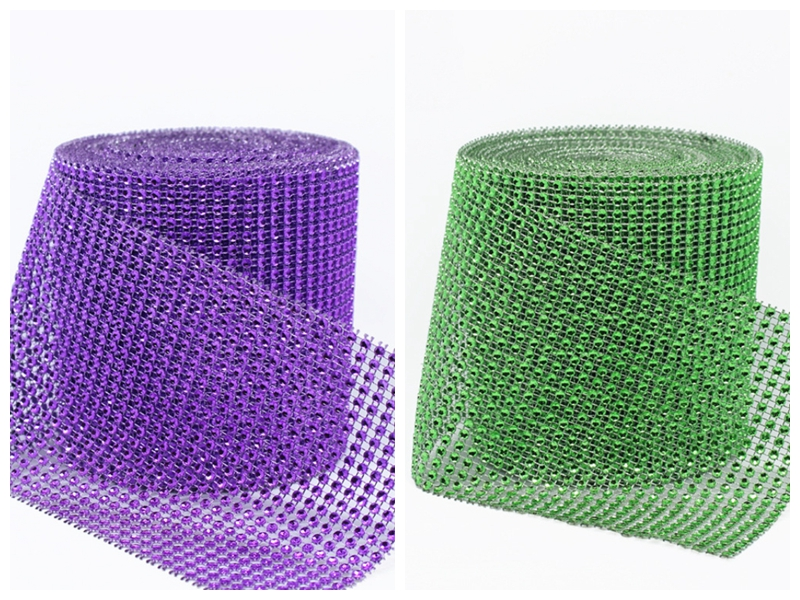 91cm Width  Approx.12cm (24 rows) Packing Include  1 x 24 Rows Crystal  Diamond Mesh Note  The items color may be slightly different from the  pictures. 10800d837def