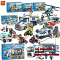 Bela Compatible with Legoe City Police 60042 128PCS+ Urban Motorcycle Pursuit Buidling Blocks Bricks 2018 New Toys For Boys